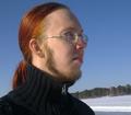 Wilhelm går gärna på promenad på isen